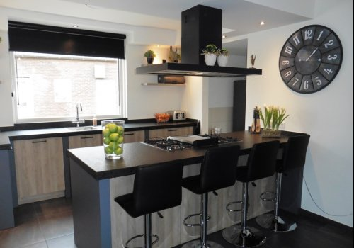 Keuken met industriele look